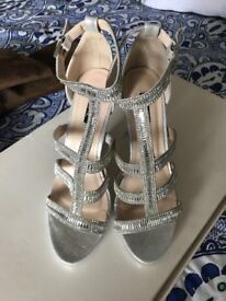 Gorgeous brand new ladies scrappy sandals by Quiz size 7