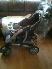 Pushchair, excellent condition. Mothercare Trenton deluxe travel system