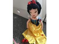 Snow White- Disney store plush