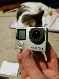 GoPro Hero 4 black MASSIVE BUNDLE
