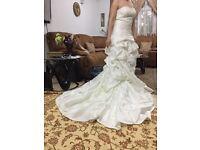 Wedding dress size 10-12 £60