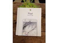 Pixel phone by google, 128gb, Very Silver, Sim free, brand new