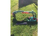 Hedge trimmers and grass Strimmer