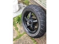 Yamaha bws 125 tyre and wheel and disc