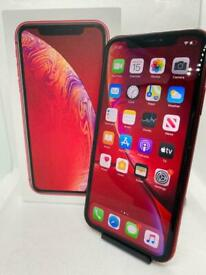 iPhone XR Red Unlocked 64gb Boxed **9/10 condition**
