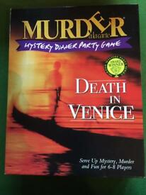 Murder mystery CD game