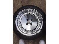 Stuttgart ST4 Alloy Wheels Set Of 4 - Great Condition, £300