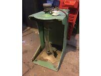 Vintage working blow butter churn maker paint stirrer whipper mixer old skool free post