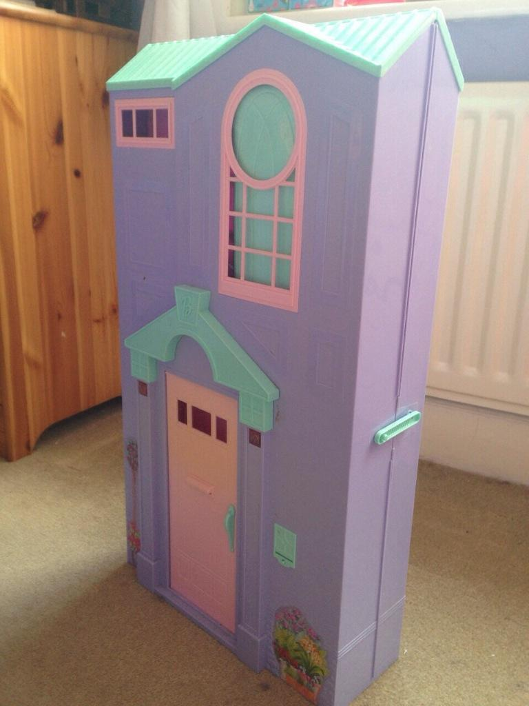Fold Away House Barbie Fold Away House And