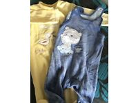 New set of 2 baby jumpsuits- 0/3m