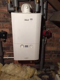 Condensing boiler Ideal logic heat 18