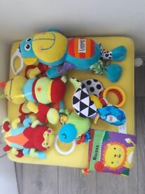 Bundle of baby toys - all in very good condition - 5 pound only