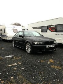 BMW 320ci M Sport black