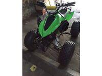 125 cc quad £350ovno