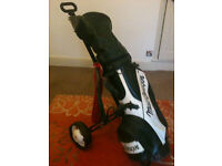 Full Set Howson Special Edition Golf Clubs, MacGregor Bag & Trolley.