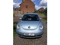 Very good condition low mileage Blue VW Beetle