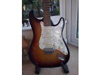 Vintage Strat guitar