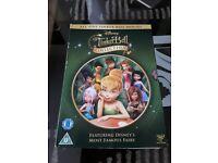 DISNEY TINKERBELL COLLECTION 5 FILM DVD DISCS SET