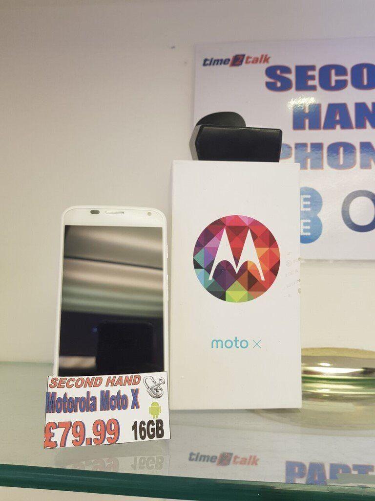 Motorola Moto X - Unlocked - 16Gb - White - Special Gumtree Offer