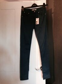 Topshop Leigh jeans size 8 new