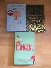 Three brand new books - easy reading