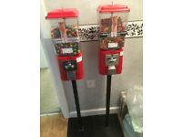 20p Coin operated candy sweet treat machine vending - Sites Required