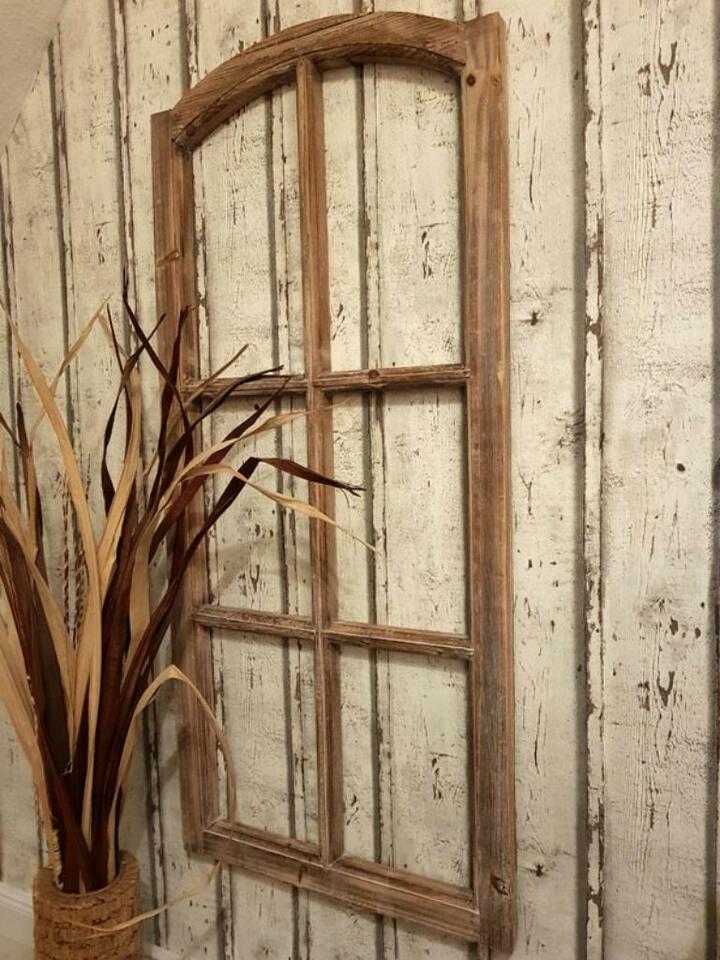 Grosses Deko Fenster Sprossen Holzfenster 50x111cm Landhaus Braun In Niedersachsen Jever Ebay Kleinanzeigen