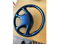 Mitsubishi l200 animal steering wheel and airbag for sale  Sunderland, Tyne and Wear