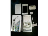 IPHONE 4S WHITE UNLOCKED 16B BOXED