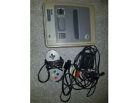 Nintendo Snes Console With Cables And 1 Controller