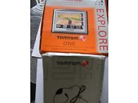 Tom Tom One Sat Nav in good condition