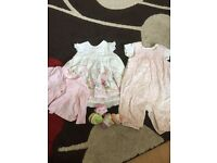 Up to 1 months girls clothes