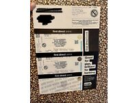 2 Rick Astley Tickets Leeds 28/10/21