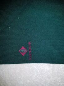 XL navy, red and green glenmuir jumper