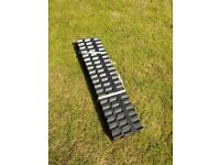 3 Galvanised Channel Driveway Drain (Reading)