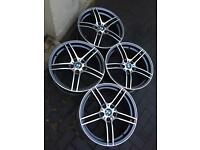 "BMW 19"" 313 Style Staggered Concave Alloy Wheels"