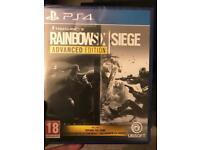 PS4 rainbow six siege advanced edition - sealed