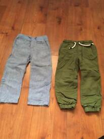 Boys age 3 trousers