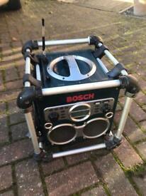BOSCH 24 v PROFESSIONAL POWER BOX SITE RADIO