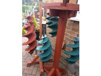 Wind catcher - wooden and home made
