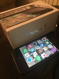 Iphone 4s ,boxed and with charger. no marks , black , clean.