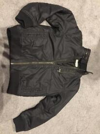 Black H&M jacket 8-9
