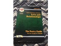 Aqa Anthology of poetry Love and Relationships