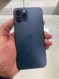APPLE IPHONE 12 PRO MAX 128GB UNLOCKED BLUE