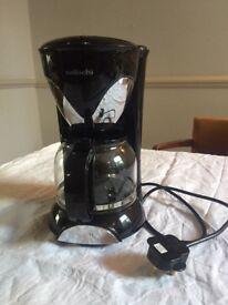 Sabichi 146380 Automatic Hot Drink Filter Coffee Maker Machine, 1.25 Litre, Black [Energy Class A]