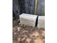 Concrete security ballast blocks / gate block