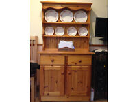Pine Dresser, Corner Unit & Display Cabinet