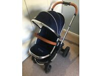 iCandy Peach Pram in Royal. 2016 Version. Very Good Condition.