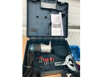 BOSCH GKF 600 palm router/laminater, accessories and case.
