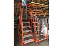 Wharehouse steps - ladders - portable on wheels